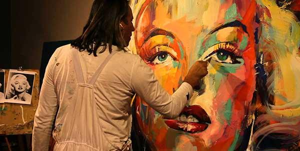 صورة انواع الفنون , اشكال مختلفة من الفن