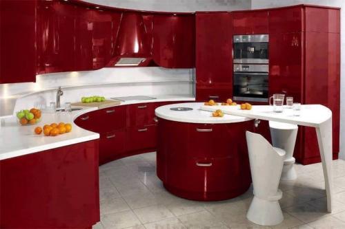صور تصميم مطابخ صغيرة , تصميمات للمطبخ صغير المساحة