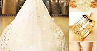 بدلات اعراس , اجمل فساتين زفاف