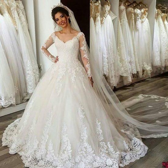 بالصور بدلات اعراس , اجمل فساتين زفاف 4269 2