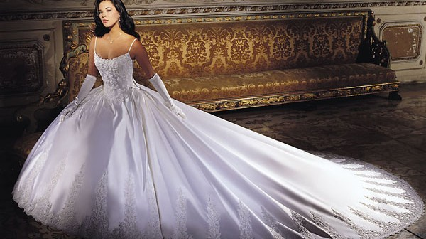 بالصور بدلات اعراس , اجمل فساتين زفاف 4269 6