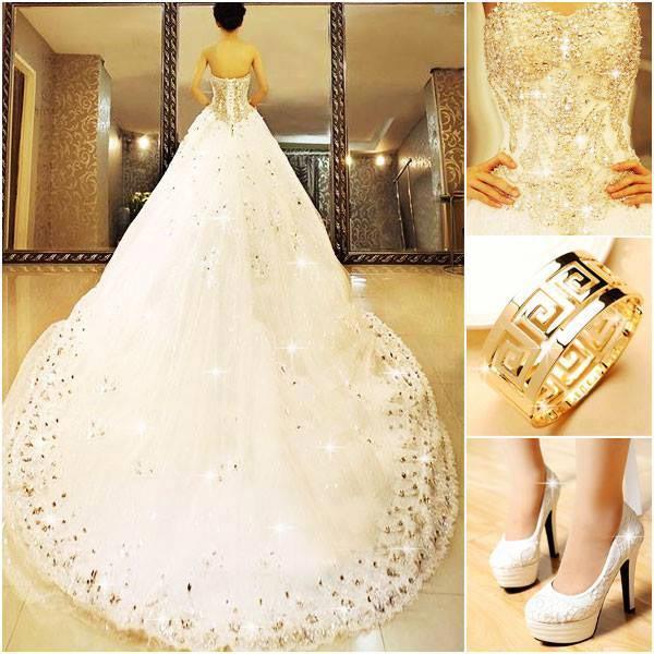 صورة بدلات اعراس , اجمل فساتين زفاف