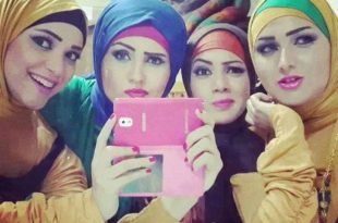 صور بنات محجبات , جمال الحجاب فى بنات العالم