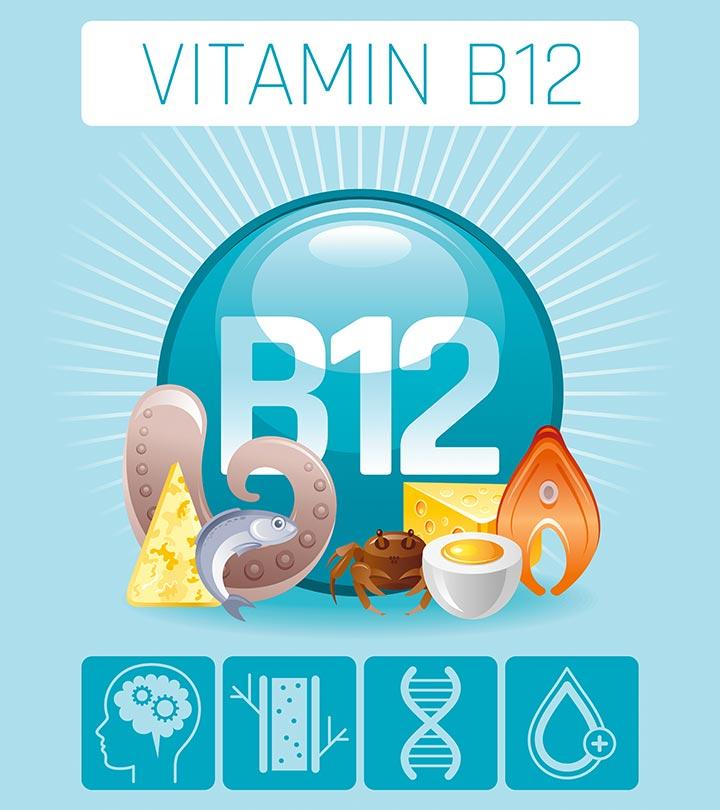 صورة فيتامين b12 , فوائد و اعراض نقص فيتامين B12