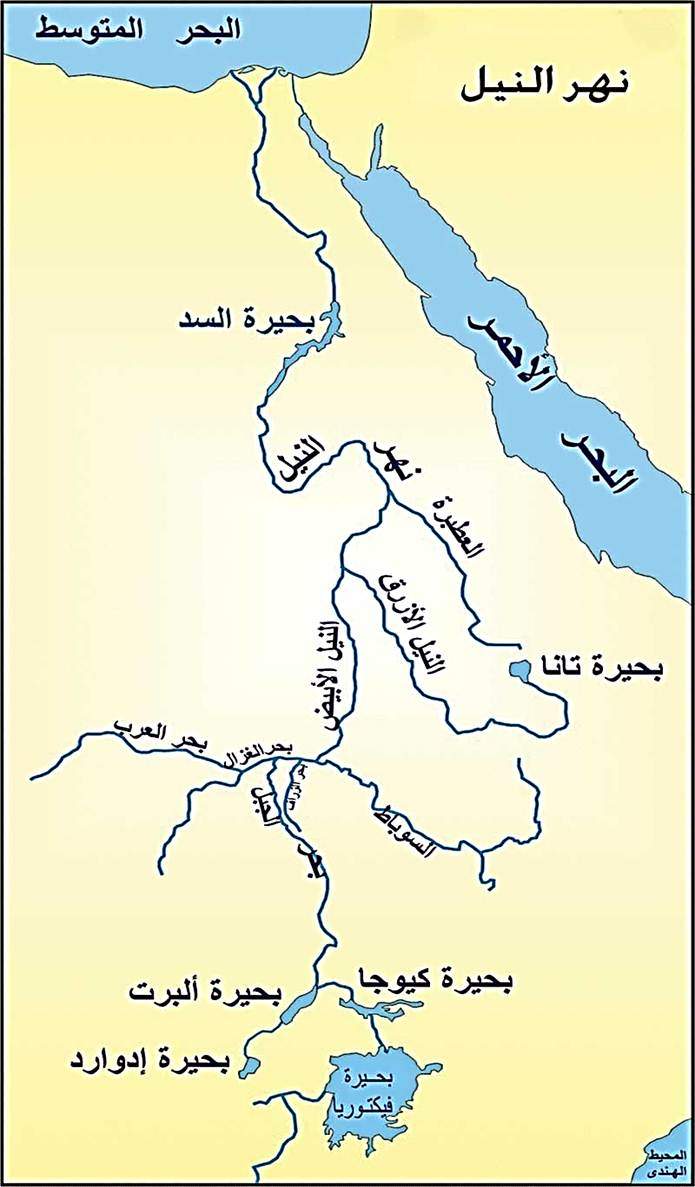 صور تعبير عن نهر النيل , وصف نهر النيل
