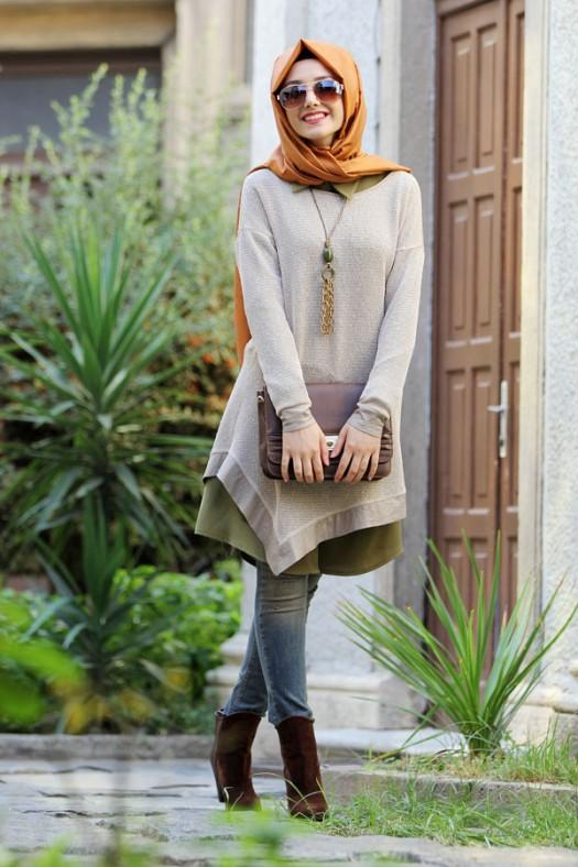 بالصور ملابس تركية للمحجبات , ارقي ملابس تركي لفتيات محجبة 6262 9