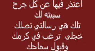 صوره رسالة اعتذار للحبيب الزعلان , اقوي رسائل الاعتذار للاحباب
