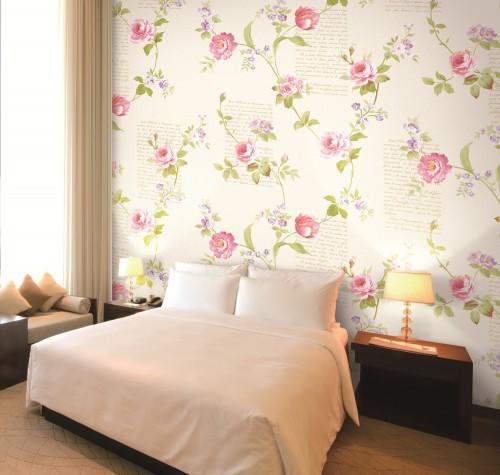بالصور ورق جدران لغرف النوم , اجمل ديكورات لورق الحائط لغرفة النوم 6386 2