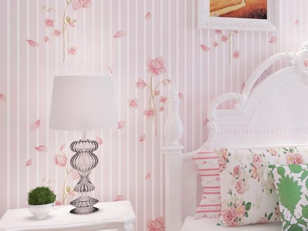 بالصور ورق جدران لغرف النوم , اجمل ديكورات لورق الحائط لغرفة النوم 6386 4