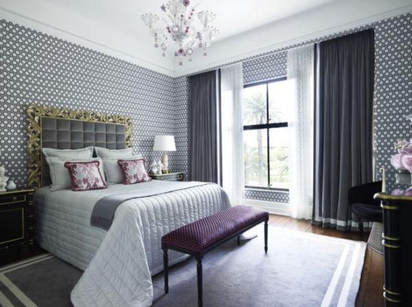 بالصور ورق جدران لغرف النوم , اجمل ديكورات لورق الحائط لغرفة النوم 6386 5