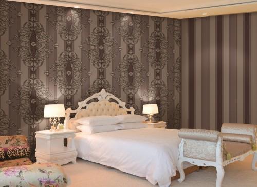 بالصور ورق جدران لغرف النوم , اجمل ديكورات لورق الحائط لغرفة النوم 6386 6