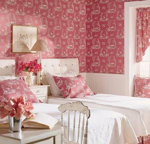 بالصور ورق جدران لغرف النوم , اجمل ديكورات لورق الحائط لغرفة النوم 6386 7