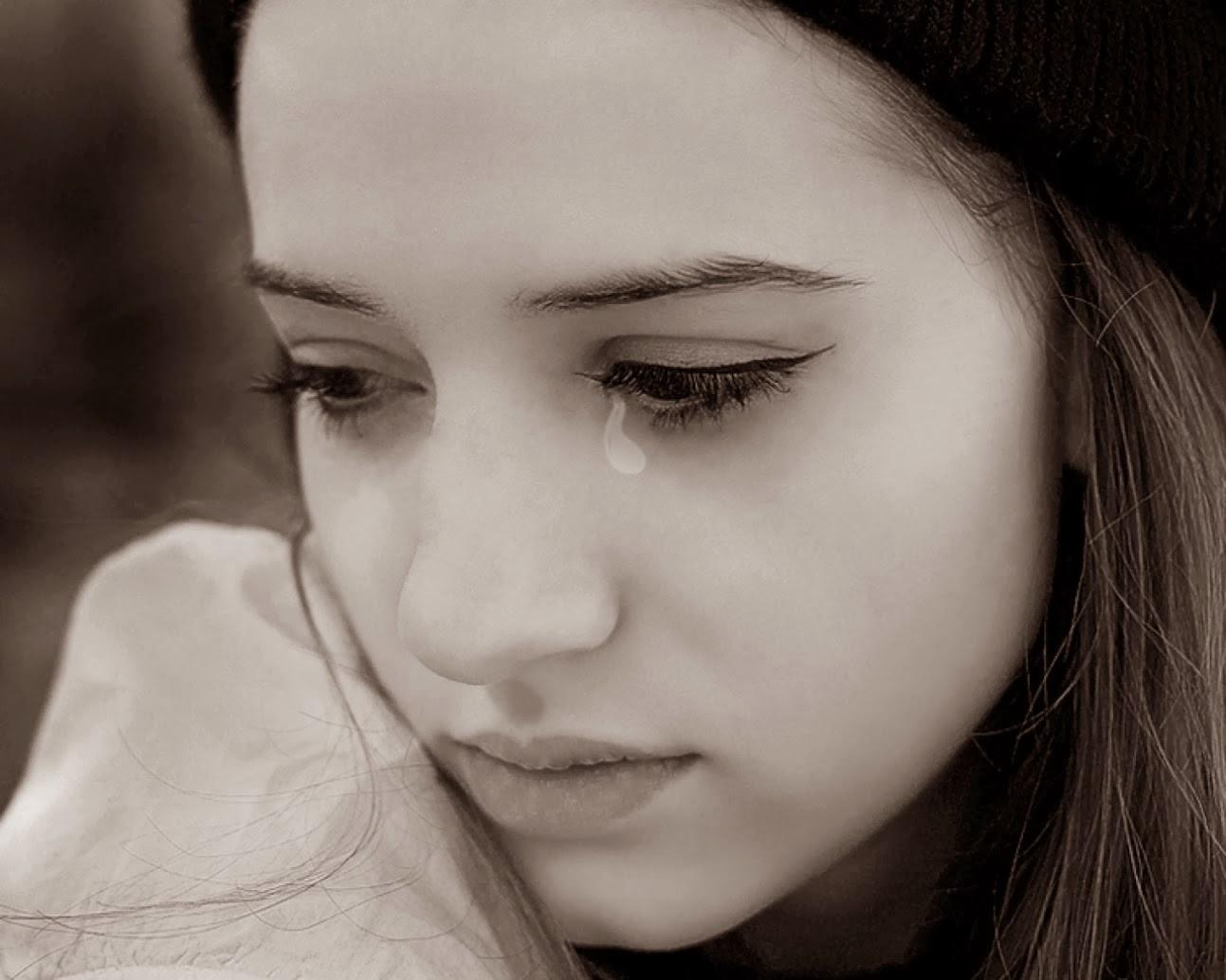 صورة صور بنت حزينه , صور لبنات حزينة جدا