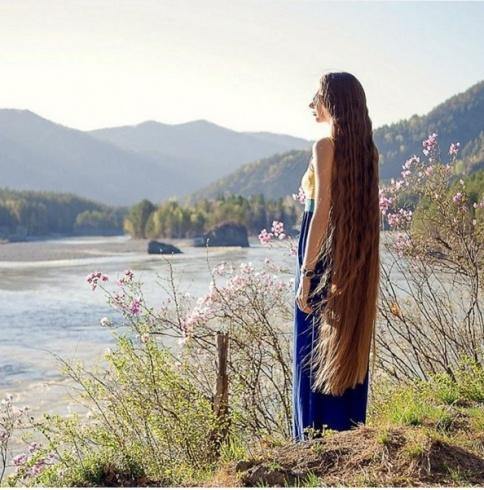 بالصور اطول شعر في العالم , شاهد اطول شعر موجود بالعالم 6442 4