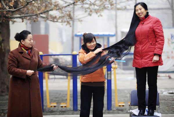 بالصور اطول شعر في العالم , شاهد اطول شعر موجود بالعالم 6442 7