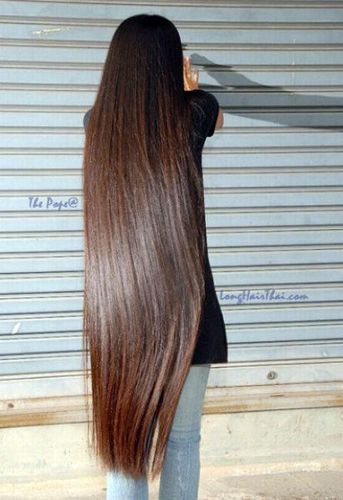 بالصور اطول شعر في العالم , شاهد اطول شعر موجود بالعالم 6442