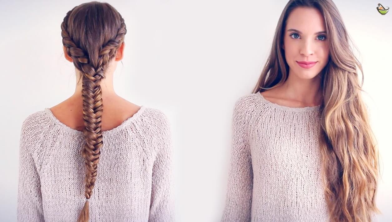 صور تطويل الشعر بسرعه فائقه , اسرع طريقة لتطويل الشعر