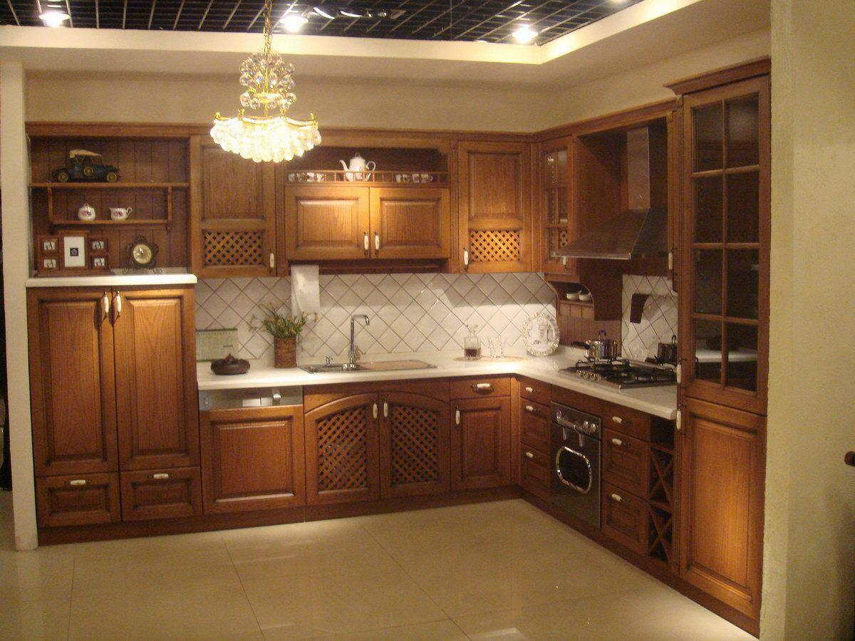 بالصور مطابخ خشب , اجمل تصميمات للمطابخ الخشب 6460 4