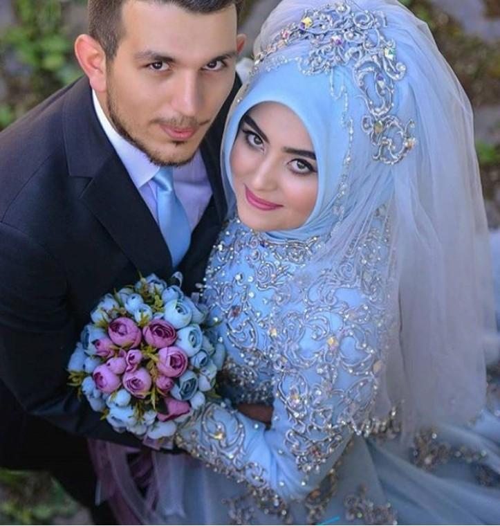 صور عروس وعريس اجمل صور لعريس وعروسة المنام