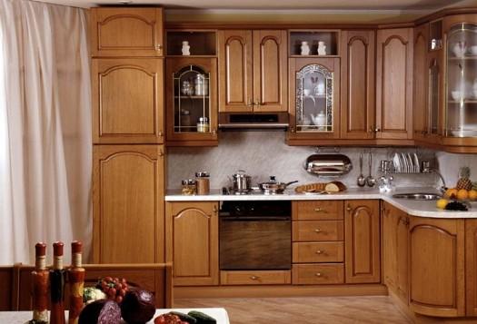 صورة صور مطابخ خشب , اروع صور لمطبخ خشب بالوان مميزة