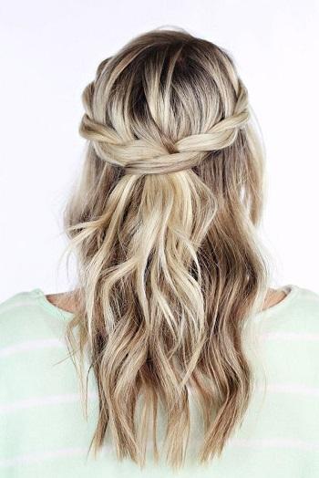 بالصور تسريحات شعر بسيطة , اسهل تسريحة للشعر بشكل بسيط 6585 1