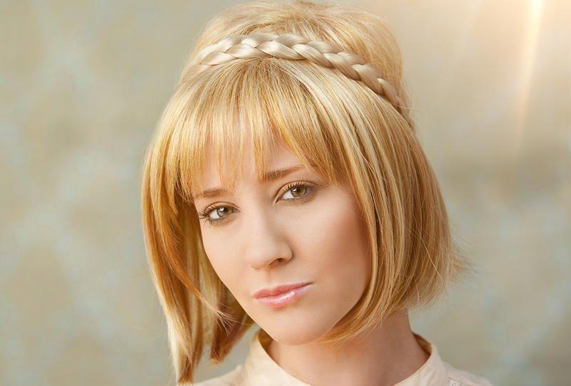 بالصور تسريحات شعر بسيطة , اسهل تسريحة للشعر بشكل بسيط 6585 4