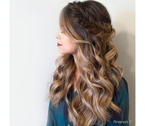 بالصور تسريحات شعر بسيطة , اسهل تسريحة للشعر بشكل بسيط 6585