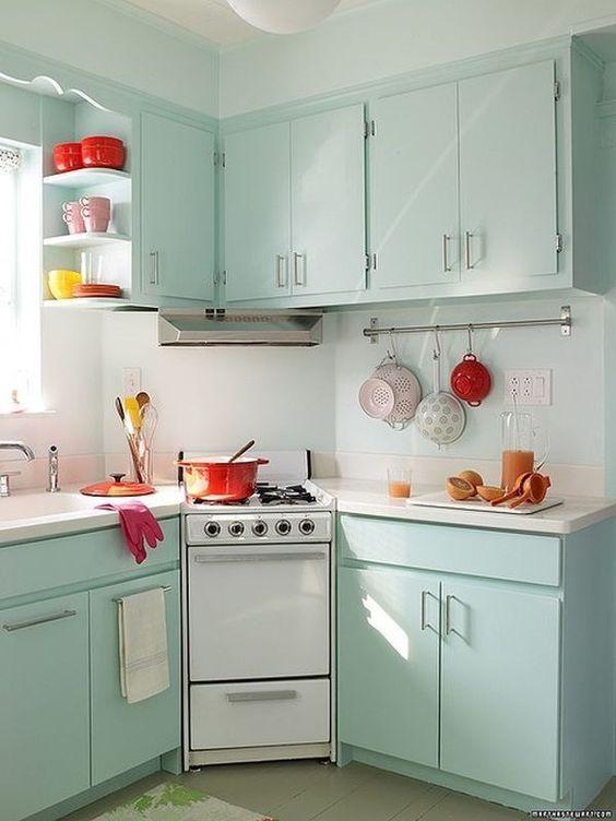 بالصور اشكال مطابخ صغيرة , اجمل شكل لمطبخ صغير 6646 5