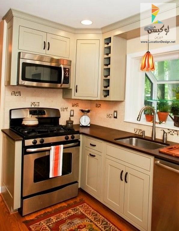 بالصور اشكال مطابخ صغيرة , اجمل شكل لمطبخ صغير 6646 9
