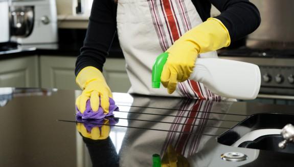 صوره تنظيف المطبخ , طرق تنظيف المطبخ