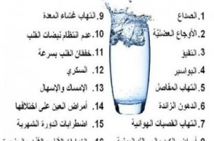 بالصور هل تعلم عن الماء , فوائد واهمية الماء 1389 12 310x205