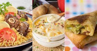 اكلات رمضان منال العالم , اجمل اكلات منال