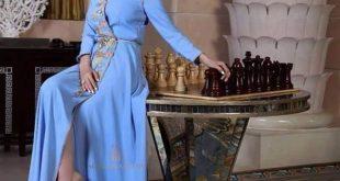 صور قفطان مغربي عصري , احدث و احلى موديلات القفطان المغربى لعيونكم
