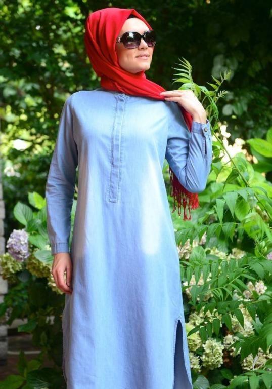 صورة ملابس خروج للبنات المحجبات , لباس خروج للبنات المحجبة 2573 1