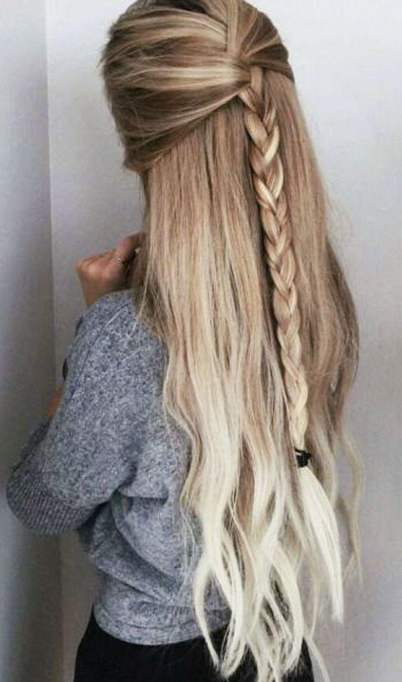 صورة تسريحات للشعر الطويل بسيطة , الشعر الطويل وتسريحاته 2747