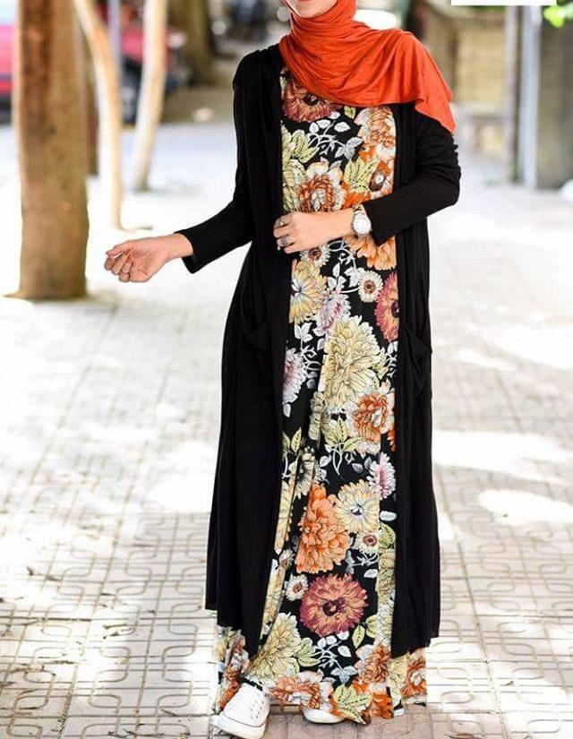 بالصور ملابس للمحجبات , ملابس محجبات روعه 3213 5