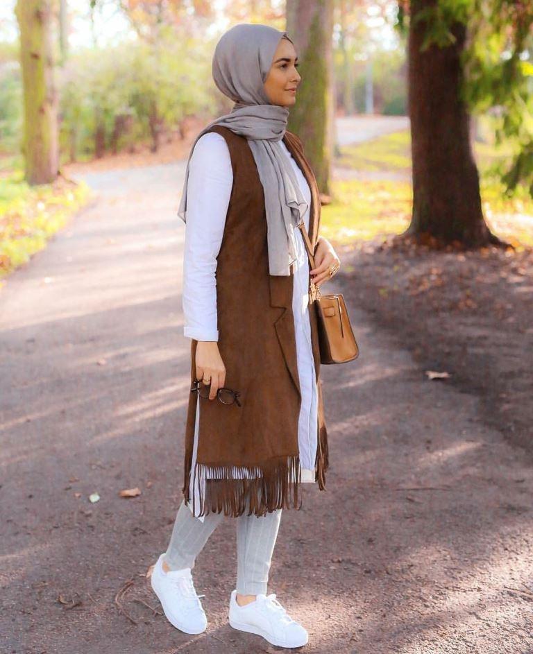 صوره موضة المحجبات , اجمل لفات حجاب مودرن