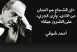صور شعر احمد شوقي , اجمل كلمات الشعر لامير الشعراء