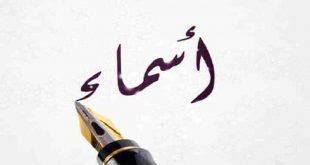 صوره معنى اسم اسماء /دلالة اسم اسماء