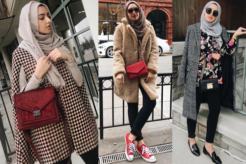 بالصور موضة شتاء 2019 للمحجبات , لباس الشتاء للمحجبات 2019 1633 10