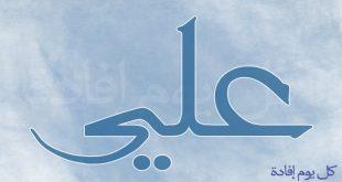 صورة ما معنى اسم علي , اسم على ومعناه 1689 2 310x165