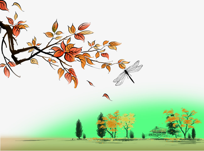 صوره رسم منظر طبيعي باليد , الرسم من الفنون الجميله
