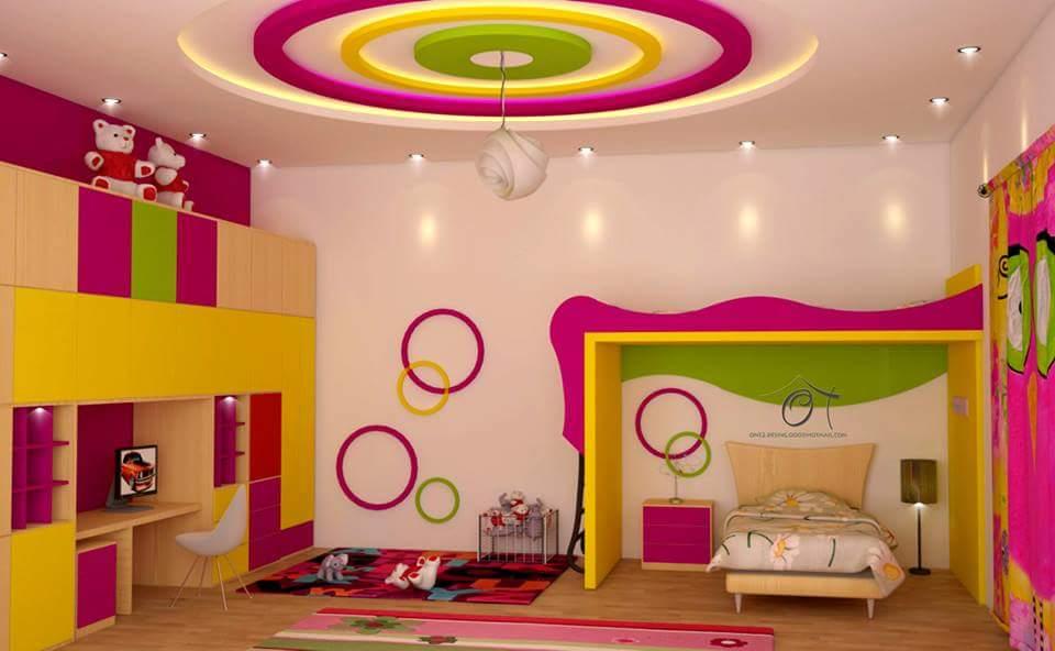 صوره ديكورات غرف اطفال , غرف اطفال روعه