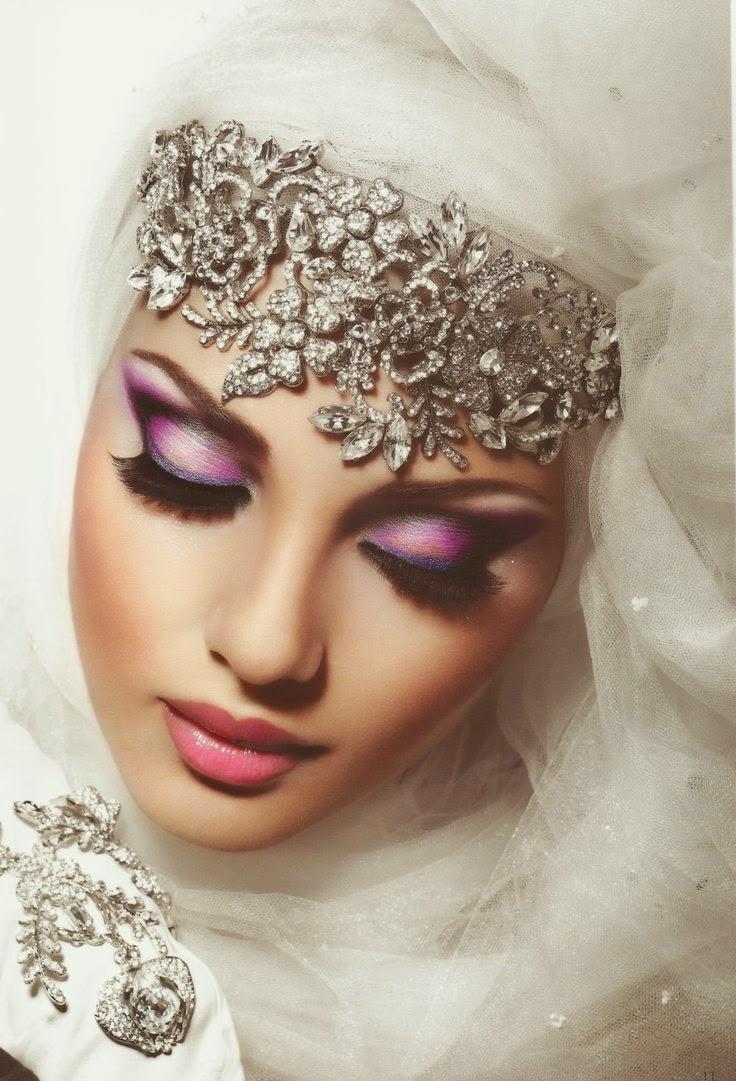 بالصور صور عرايس محجبات , اجمل صور لموديلات فساتين زفاف محجبات 3460 6