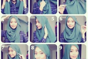 بالصور طرق لف الحجاب , شاهد اجمل طرق للف الحجاب 3829 1 310x205