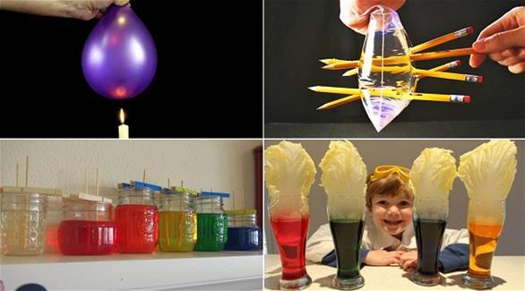 بالصور تجارب علمية بسيطة , تجارب مدرسيه علميه