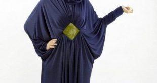 عبايات خروج ملونة مصرية , اجمل موديلات للعباية المصرية