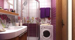 صوره ديكورات حمامات صغيرة جدا وبسيطة , تصميمات حمامات مودرن