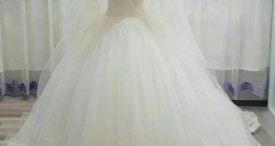 صور فساتين زفاف , تالقي بالفستان الابيض