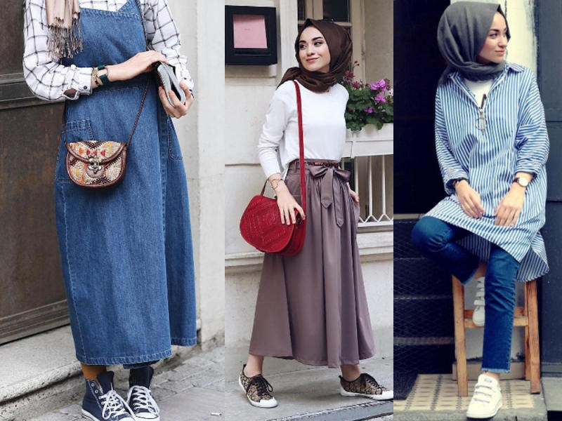 بالصور ملابس محجبات تركية , اجمل الملابس التركيه للمحجبات 3136 4
